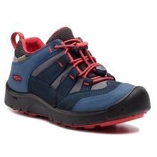 Trekkingi KEEN - Hikeport Wp 1017993 Dress Blue/Firey Red