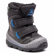 Śniegowce KAMIK - Parker2 NK9483 Black Blue