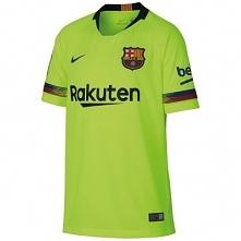 Koszulka krótki rękaw do piłki nożnej Barcelona dla dzieci
