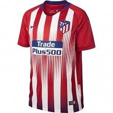 Koszulka krótki rękaw do piłki nożnej Atletico dla dzieci