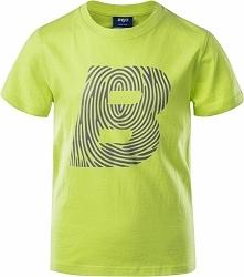 Koszulka dziecięca Logo BJ JRB limonkowa r. 146