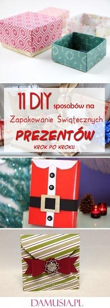 11 DIY Sposobów na Zapakowa...