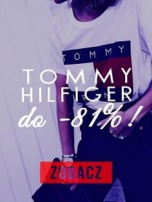 Promocja do -81% na wszystko od TOMMY HILFIGER! Więcej informacji po kliknięc...