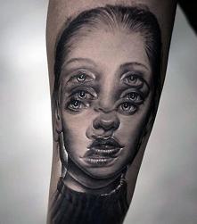 illusion tattoo face