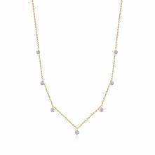 Wyjątkowy Naszyjnik - , Diament 0,04ct