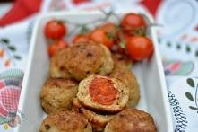 Kotlety mielone z pomidorka...