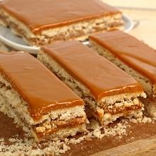 Ciasto z masą krówkową - bł...