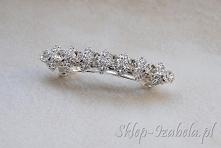 Spinki do włosów biżuteria z kryształkami