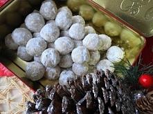 Ciasteczka Śnieżne Kule.