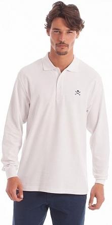 Polo Club C.H..A Koszulka Polo Męska M Biała
