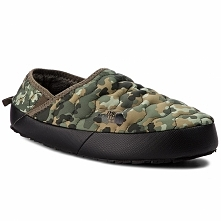 Kapcie THE NORTH FACE - Thermoball Traction Mule IV T9331E5QU Termac Green Ma...