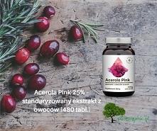 Acerola - jest skarbnicą witaminy C, której zawiera więcej niż cytryna :-) po...