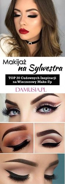 Makijaż na Sylwestra: TOP 20 Cudownych Inspiracji na Wieczorowy Make-Up