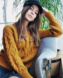 Ten przecudowny sweterek ku...