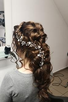 Moja fryzura ślubna. :)