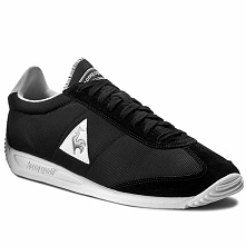 Sneakersy LE COQ SPORTIF - Quartz 1710033 Black/Old Silver