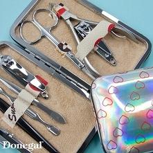 Zestaw do manicure i pedicure.  Beauty by Donegal