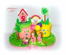 Tort dla bliźniaczek