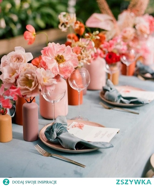 Living Coral, color of the year 2019! Co sądzicie? Jak dla mnie cudo!  #livingcoral #beautiful #wedding -