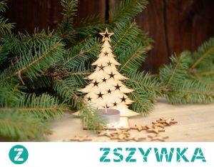 Choinka klasyczna.  Choinka klasyczna do zawieszenia, doskonała na drobny upominek lub jako bożonarodzeniowa ozdoba. Może być wykorzystana również do przewiązania na butelce wina oraz jako dekoracja do świątecznych stroików. Możliwość dokupienia podstawki.