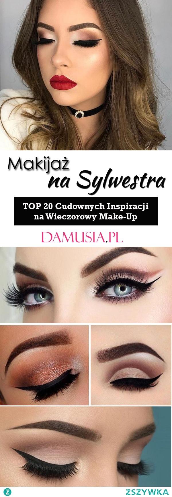 Makijaż na Sylwestra: 20 Ciekawych Inspiracji
