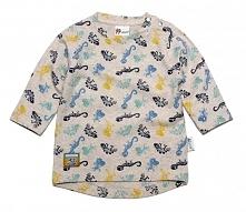 Gelati T-Shirt Chłopięcy Dinosaur 74 Szary