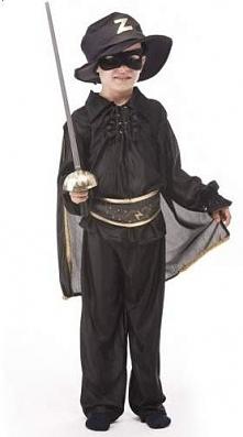 Strój Zorro - przebrania i kostiumy dla dzieci
