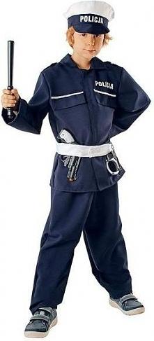 Strój Policjant - przebrania , kostiumy dla dzieci