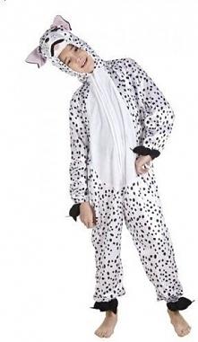 Kombinezon Dalmatyńczyk 4-6 lat kostiumy dla dzieci