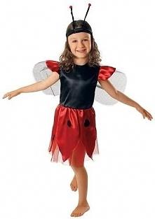Strój Biedronka sukienka - przebrania dla dzieci