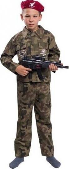Komandos - żołnierz - przebrania  dla dzieci,