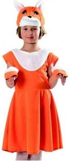 Strój Lisiczka - przebrania , kostiumy dla dzieci odgrywanie ról
