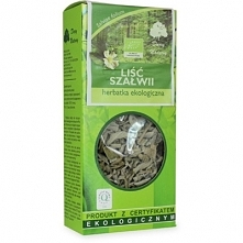 DARY NATURY 25g Herbata Liść szałwii Liściasta BIO