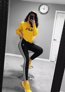 fila adidas yellow