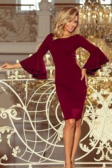 Piekna sukienka Carmen z po...