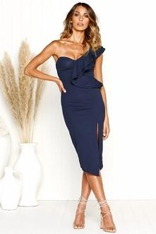 Sukienka Claire Navy Blue z noshame.pl (klik w zdjęcie, by przejść do sklepu)
