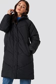 Minimum Płaszcz Margie - Black