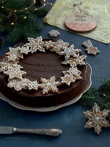 Obłędny sernik czekoladowo-...