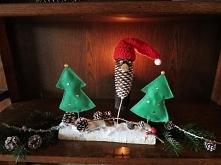 Wesołych Świąt :)  Włóczką ...