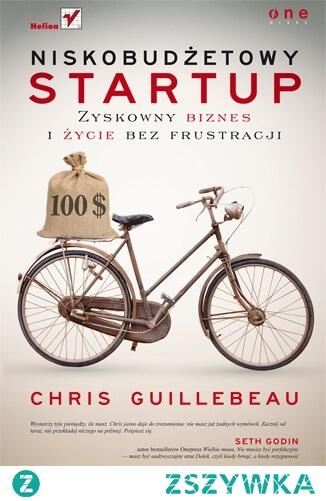 """Książka """"Niskobudżetowy startup. Zyskowny biznes i życie bez frustracji"""" - Chris Guillebeau  Masz dość harowania na czyjś rachunek? Czujesz, że Twoja praca wysysa z Ciebie ostatnie soki? A może Twoim marzeniem jest prowadzenie własnej firmy i poczucie wolności, które daje taka praca? To świetnie!  Bez względu na to, ile masz pieniędzy — masz ich wystarczająco dużo. Tak jak w przypadku podróżowania, rozpoczynanie działalności gospodarczej na własną rękę lepiej wychodzi tym, którzy nie mają zbyt wiele. Będziesz bowiem zmuszony do improwizowania, wdrażania kreatywnych rozwiązań i twardego stąpania po ziemi. To Twoja prawdziwa wartość i pierwszy krok do sukcesu."""