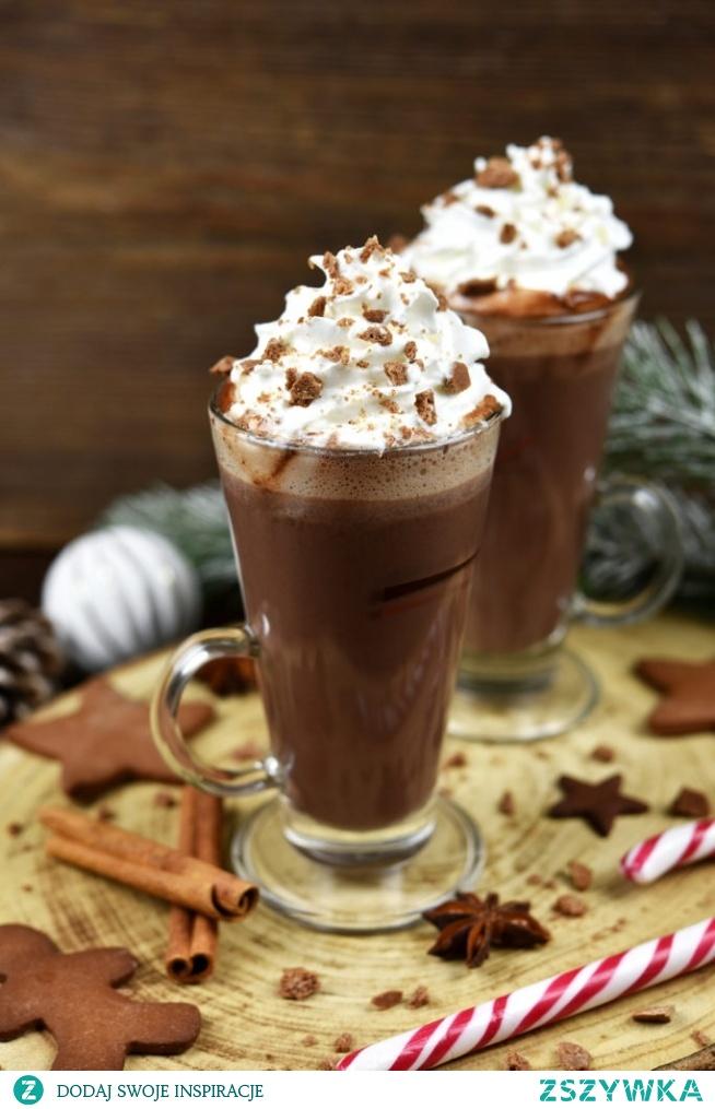 Piernikowa gorąca czekolada w 5 minut!