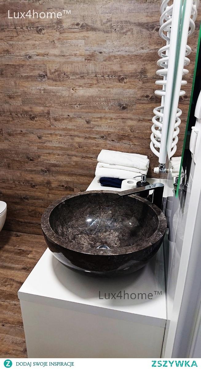 Czarna Umywalka Z Marmuru Na Blat Do łazienki Czarna