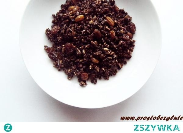 Granola z kaszą gryczaną (bez glutenu)