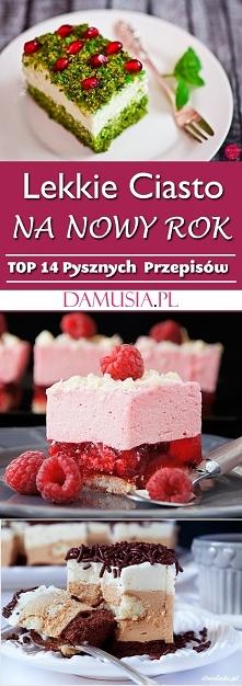 Delikatne Ciasto Na Nowy Rok – TOP 14 Pysznych i Lekkich Przepisów