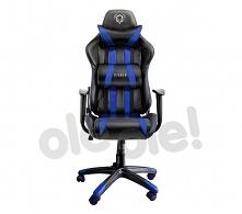 Diablo Chairs X-One (czarno-niebieski)- szybka wysyłka! - Raty 10 x 50,70 zł