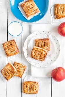 Ciastka francuskie z jabłka...
