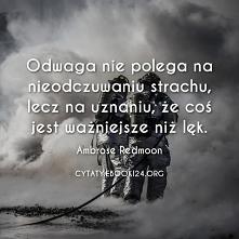 Ambrose Redmoon cytat o odwadze
