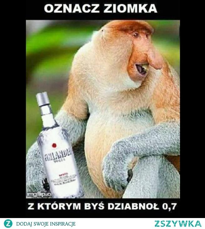 Sylwestrowy mem:D Oznacz ziomka z którym byś dziabnoł 0.7  mojecytatki.pl #memy #memes #cytaty #oznaczamy #janusz #nosaczepolskości
