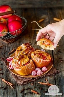 Pieczone jabłka (post Dąbrowskiej)