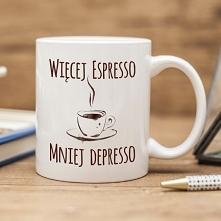Więcej espresso - mniej depresso